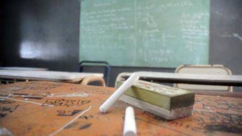 Se cumple la primera jornada de paro docente en la Provincia