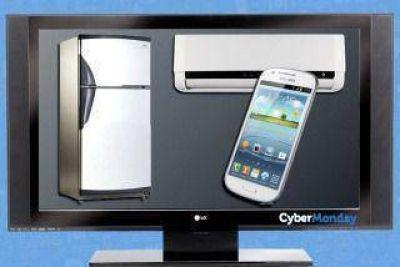 Por el CyberMonday se vende un televisor cada 26 segundos y un aire cada 49