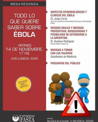 Mesa Redonda sobre Ébola