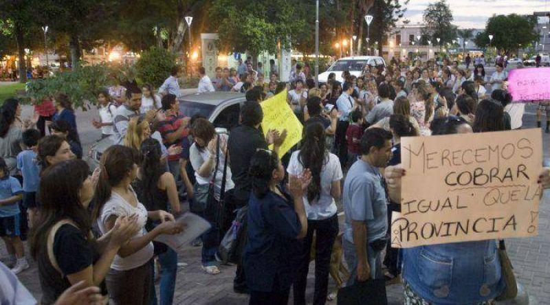 Presionada por las bases, ATECa no acat� la conciliaci�n obligatoria