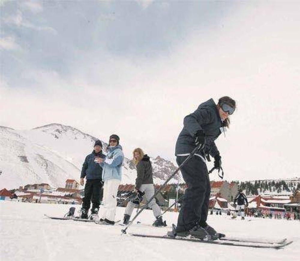 Las Leñas, con el virus del esquí