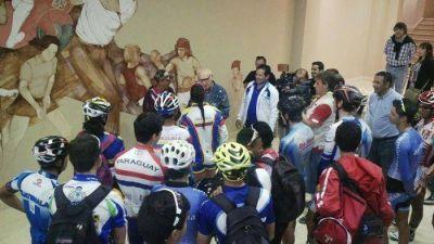 """Juan Curuchet: """"Ser ciudad satélite es un orgullo para quienes amamos el deporte y el ciclismo"""""""