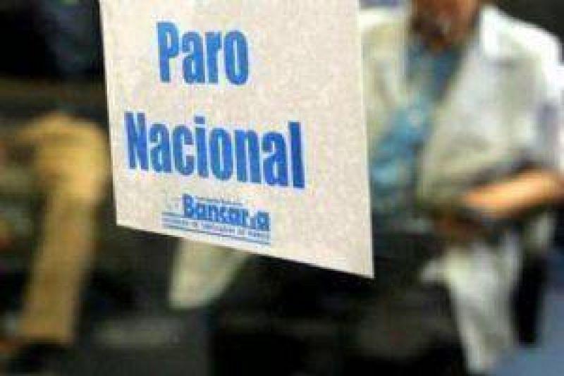 Hoy y mañana los bancarios salteños no atienden al público por paro nacional