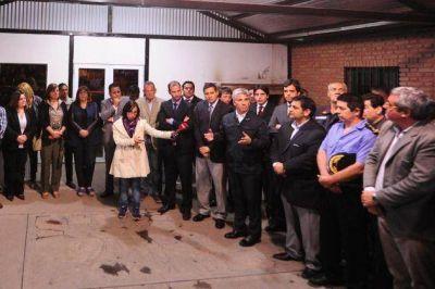 Poggi inauguró la ampliación del sistema de videovigilancia para la ciudad
