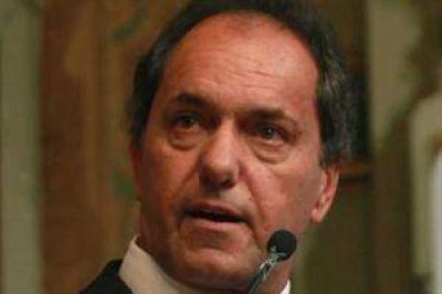 Scioli busca aprobar hoy el presupuesto
