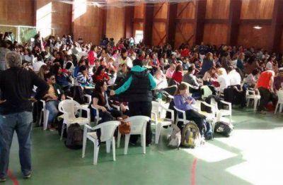 Masiva concurrencia al Congreso Pedagógico Provincial del SUTEF