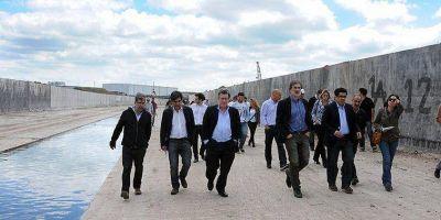 Visita guiada por las obras hidráulicas de La Plata