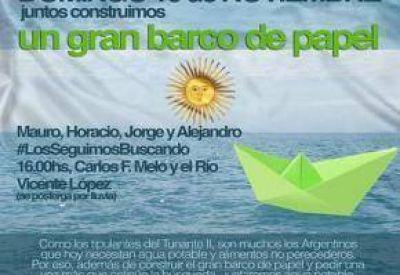 """Tunante II: Jornada solidaria para pedir """"que la búsqueda continúe"""""""
