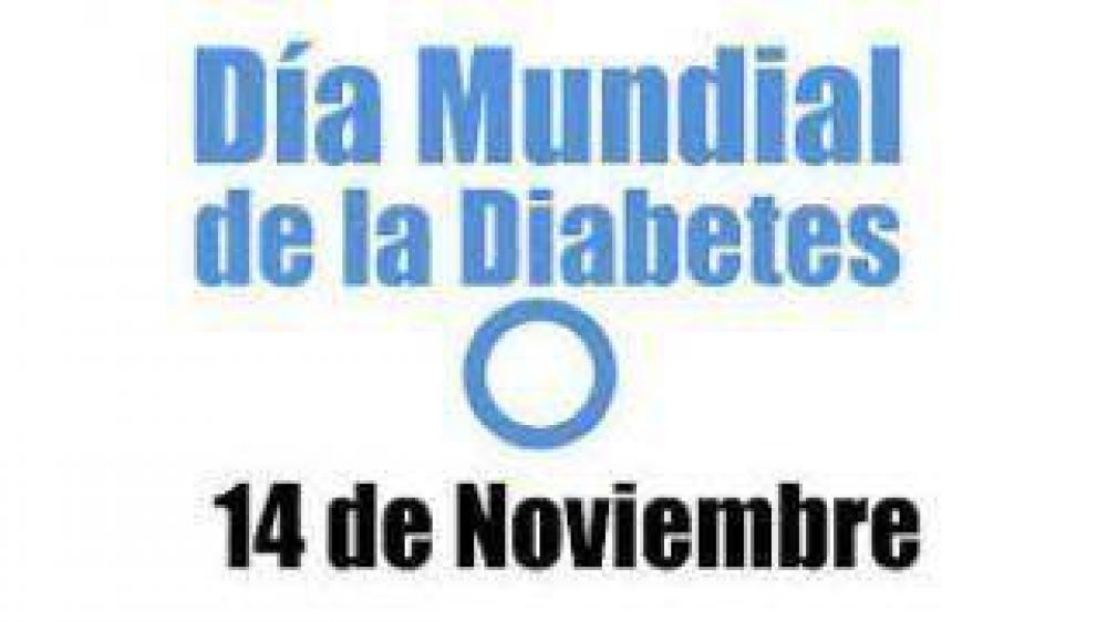 Largan dos jornadas de concientización y control por el Día Mundial de la Diabetes