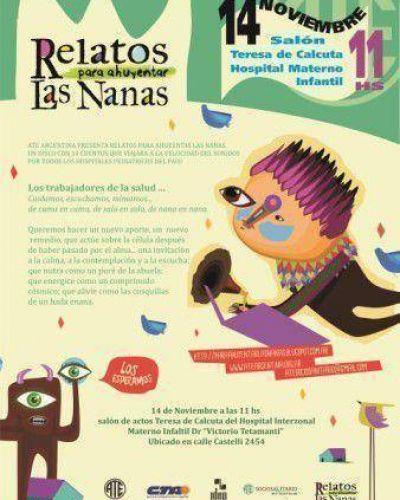 """Presentarán """"Relatos para ahuyentar las nanas"""" en el Materno Infantil"""