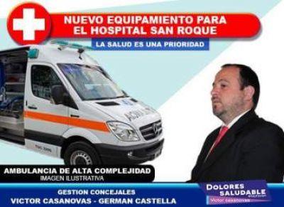 Dolores Saludable: importantísima gestión para el hospital San Roque