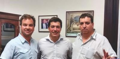 San Cayetano: Mariano Martinez con agenda completa en La Plata
