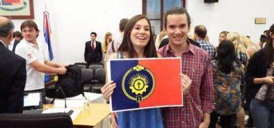 Posadas ya tiene su bandera, cuyo diseño obtuvo el 49% de los votos