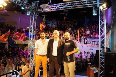 Taiana suma el apoyo joven de Seamos Libres y reclama debate a los otros precandidatos del FpV