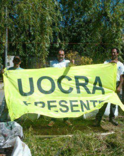 El accionar de UOCRA solidario no se detiene