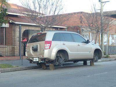Detectan una baja en la cantidad de denuncias por robo de automotores