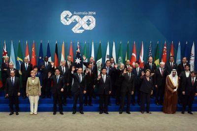 La foto de familia de la cumbre del G-20