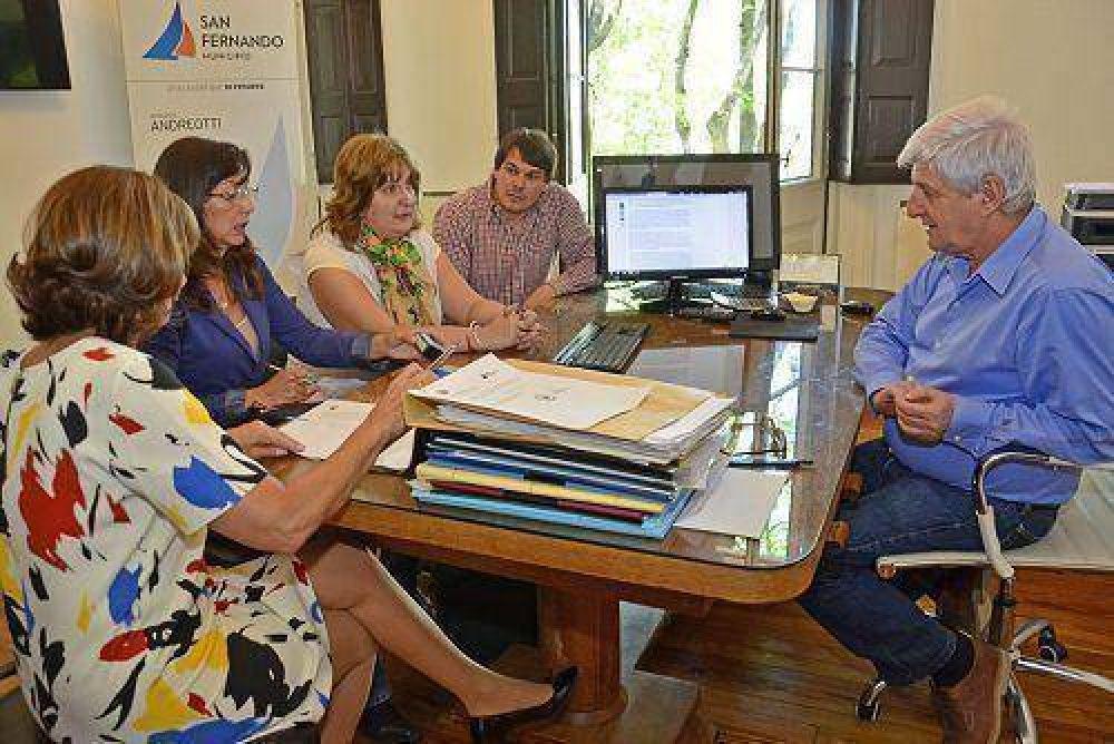 Luis Andreotti aumentará en 1.200.000 pesos el presupuesto para arreglar escuelas provinciales