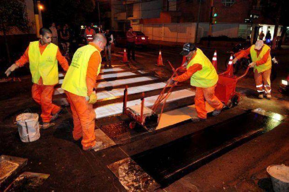 Avanza la Ola de Seguridad Vial en la Avenida Bicentenario de la ciudad de Salta