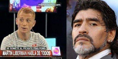 Martín Liberman arremetió contra el Diez: