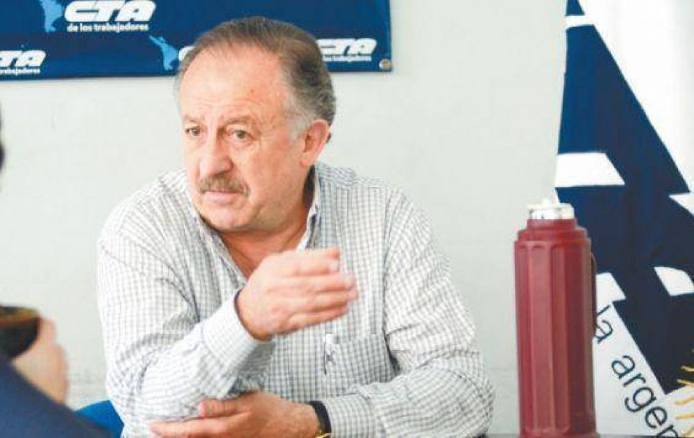 Hugo Yasky busca su reelección al frente de la CTA