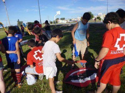 Jornada educativa de la Cruz Roja Tandil