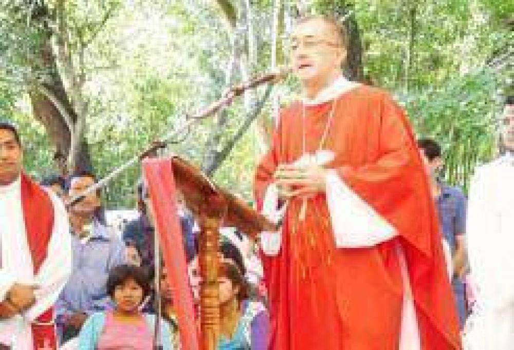 Multitudinaria muestra de fe en la peregrinación a Loreto