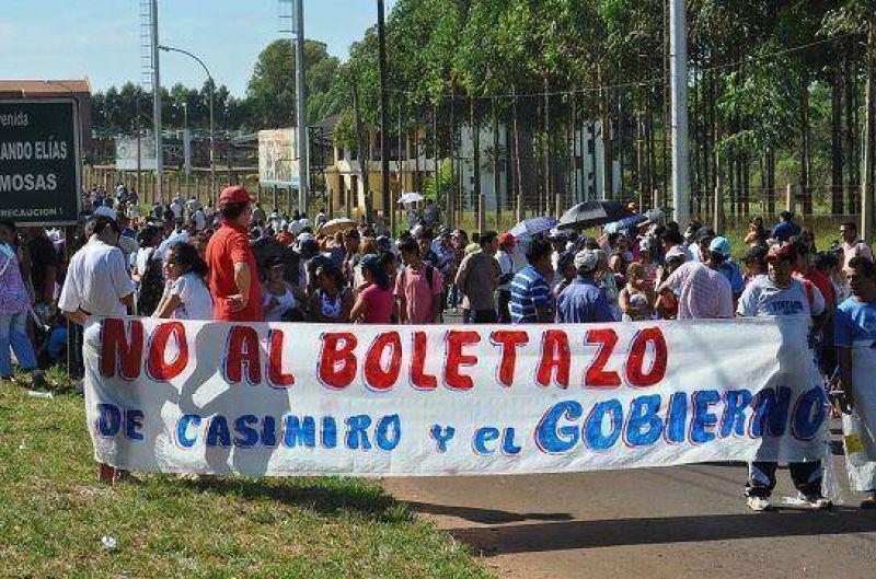 Boletazo: Intiman a la Comuna a ampliar el plazo de inscripción para la audiencia pública