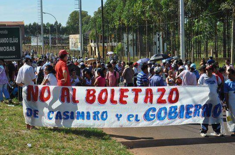 Boletazo: Intiman a la Comuna a ampliar el plazo de inscripci�n para la audiencia p�blica