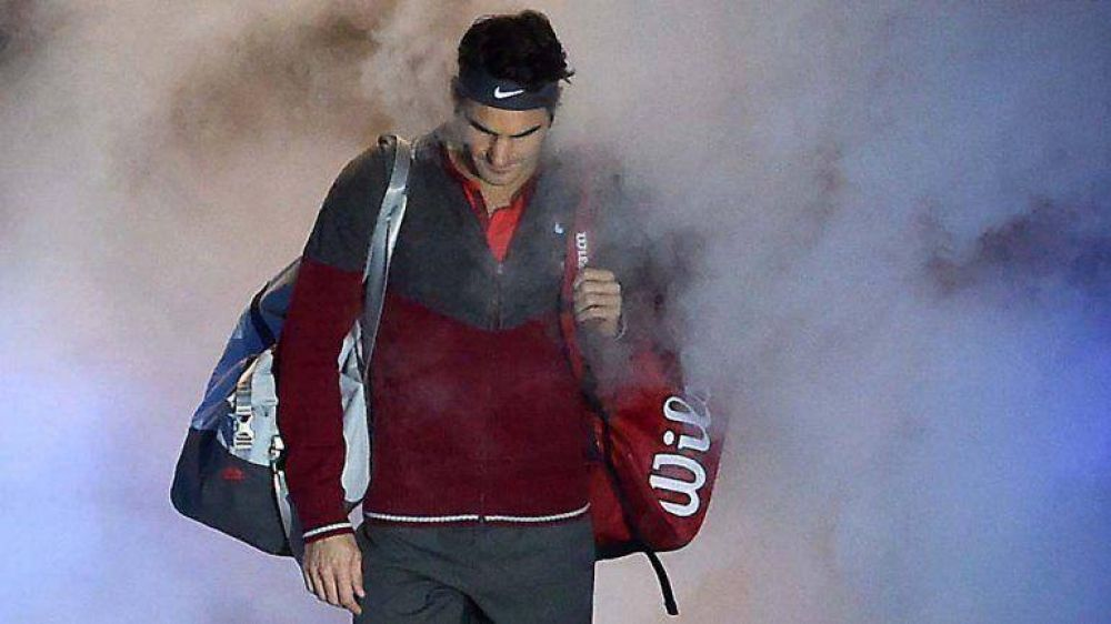 Federer faltó por primera vez a una final y pidió disculpas