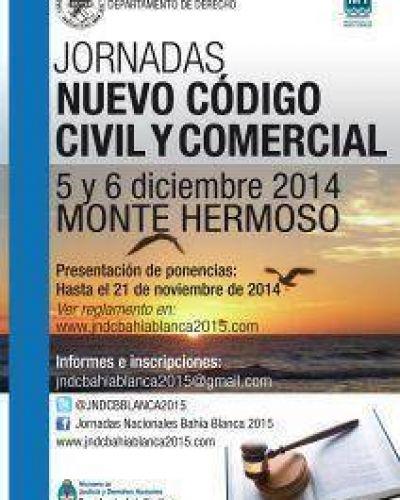 Monte Hermoso será sede de las Jornadas Preparatorias del nuevo Código Civil y Comercial