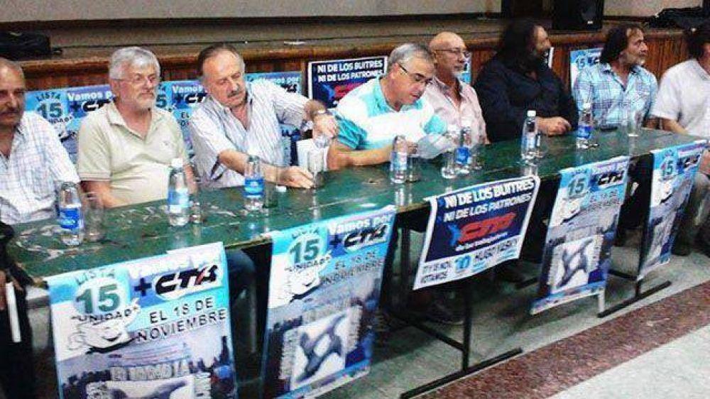 CTA: Yasky y Gálligo van por la reelección