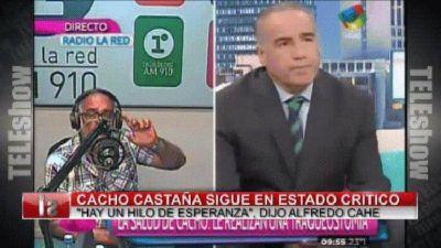 Horas decisivas: le realizaron una traqueotomía a Cacho Castaña