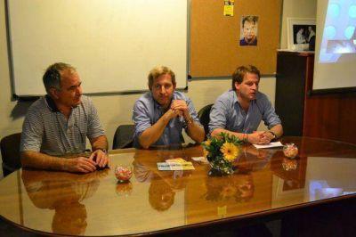 Rogelio Frigerio visitó a Campbell en San Fernando