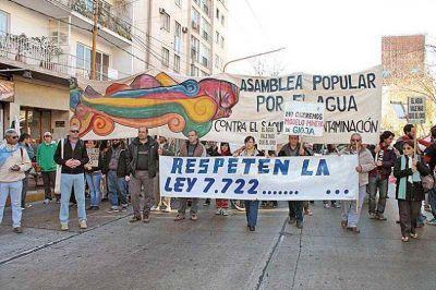 Varios distritos se movilizaron contra la minería y en defensa del agua