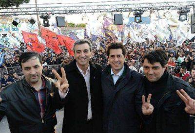 El Día de la Militancia mostró a los presidenciales oficialistas separados