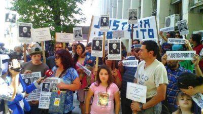 """Repudiaron la excarcelación del único acusado por la muerte de """"Tito"""" Arriagada"""