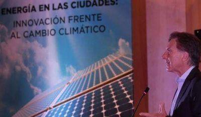 Macri destacó la agenda verde porteña