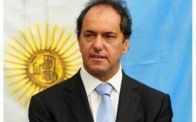 Intendentes de la Sexta Sección apoyan la candidatura de Scioli 2015