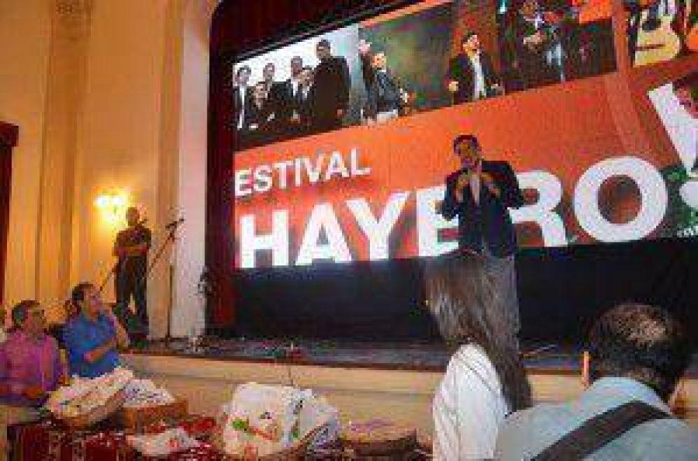 El municipio de Sanagasta realizó la presentación de la 41er edición del Festival Chayero Sanagasteño 2015