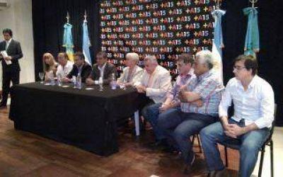 Quilmes: Queijeiro presentó bloque unificado del Frente Renovador