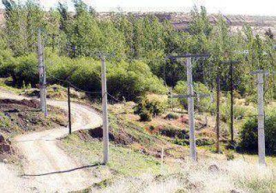 Avanzan las obras de electricidad en los parajes rurales