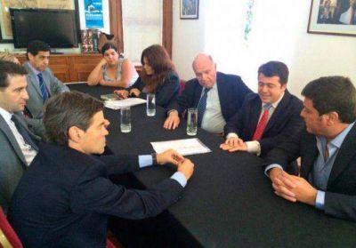 """Catani resaltó la """"sensibilidad social"""" del titular del Senado al abordar la creación de nuevos juzgados laborales"""
