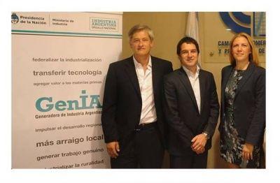 Inauguraron la oficina regional GenIA en 25 de Mayo