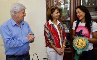 San Fernando: Andreotti recibió a