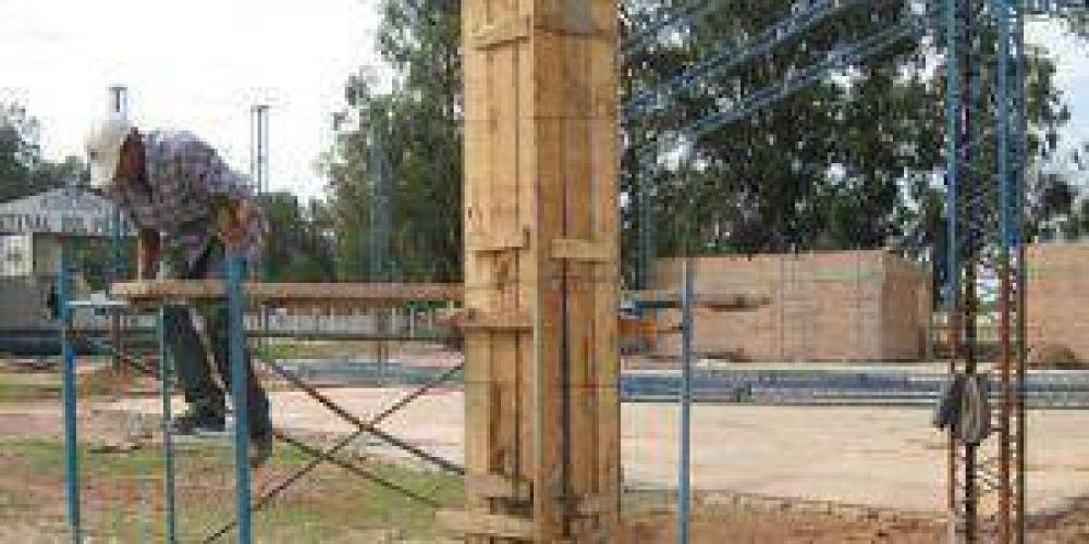Minimizan la baja en el sector de la construcción