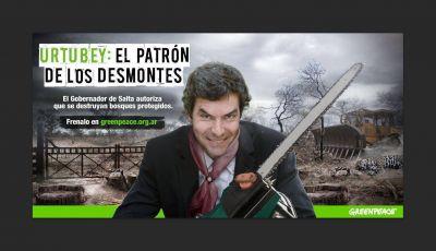 Para Greenpeace: