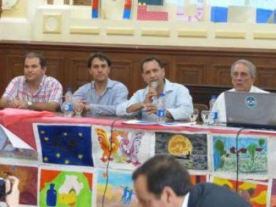 Juan María Traverso brindó una interesante charla de Seguridad Vial