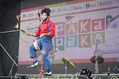 En el Día Internacional de los Derechos del Niño, Azul festejó al ritmo de Pakapaka