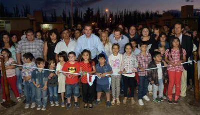 Pérez entregó nuevas viviendas en Lavalle